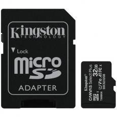 Kingston microSDHC 32GB Canvas Select Plus 1 kpl