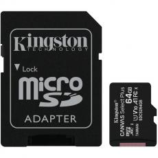 Kingston microSDXC 64GB Canvas Select Plus 1 kpl