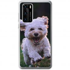 TPU-suoja omalla kuvalla Huawei P40