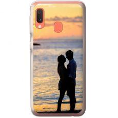 TPU-suoja omalla kuvalla Samsung Galaxy A20e