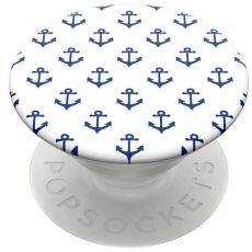 PopSockets PopGrip Anchors Away White