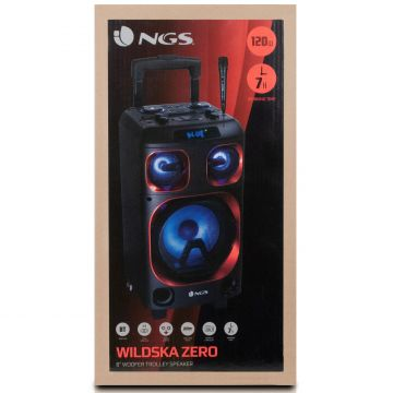 NGS Wild Ska Zero 120W akullinen bilekaiutin