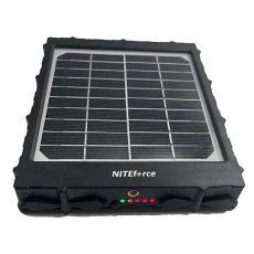 NITEforce aurinkopaneeli riistakameroille power bankilla 8000mAh