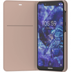 Nokia 5.1 Plus Flip Cover CP-251 cream