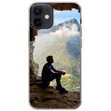 TPU-suoja omalla kuvalla iPhone 12 Mini
