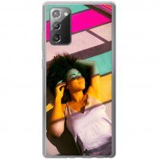 TPU-suoja omalla kuvalla Galaxy Note20