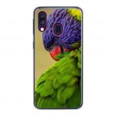 TPU-suoja omalla kuvalla Galaxy A40
