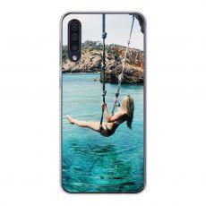 TPU-suoja omalla kuvalla Galaxy A50