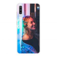 TPU-suoja omalla kuvalla Galaxy A70