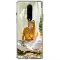 TPU-suoja omalla kuvalla OnePlus 8