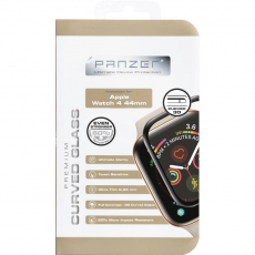Panzer Apple Watch 4 44mm Curved Silicate Glass