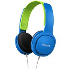 Philips lasten langalliset kuulokkeet SHK2000 blue