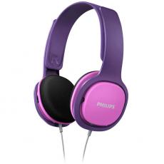 Philips lasten langalliset kuulokkeet SHK2000 pink