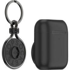 PopSockets Apple AirPods pidike + PopChain black