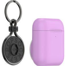 PopSockets Apple AirPods pidike + PopChain purple