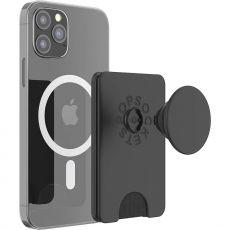 PopSockets MagSafe-yhteensopiva PopWallet+ black