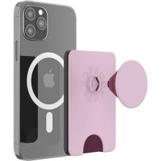 PopSockets MagSafe-yhteensopiva PopWallet+ blush pink