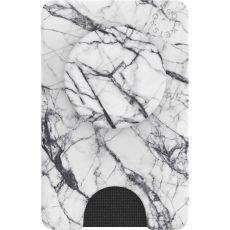 PopSockets PopWallet+ Dove White Marble