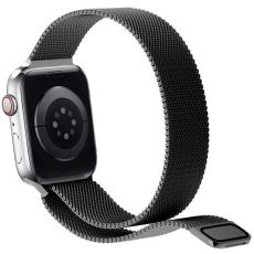 Puro Milanese-ranneke Apple Watch 38mm/40mm black