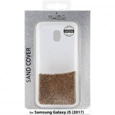 Puro Galaxy J5 2017 Sand-suojakuori gold