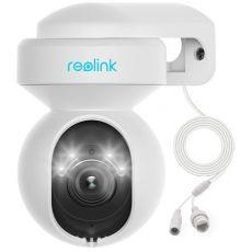 Reolink E1 Outdoor 5MP PTZ Auto Tracking AI WiFi-kamera LED-valoilla