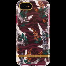 RF suojakuori iPhone 6/6S/7/8/SE floral zebra