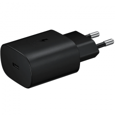 Samsung 25W Super Fast Charging verkkolaturi black