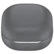 Samsung Galaxy Buds Live/Buds Pro Leather Cover gray