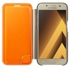 Samsung Galaxy A3 2017 Flip Cover gold
