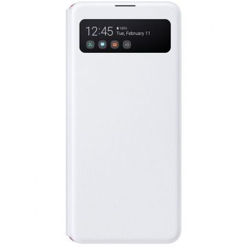 Samsung Galaxy A41 S-View Cover white