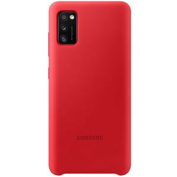 Samsung Galaxy A41 Silicon Cover red