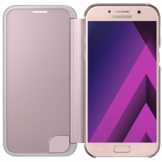 Samsung Galaxy A5 2017 Clear View Cover pink