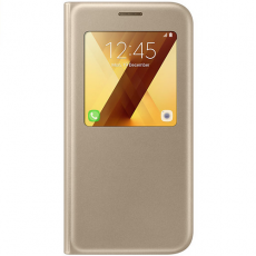 Samsung Galaxy A5 2017 S-View Cover gold