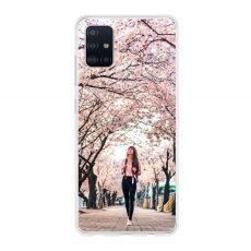 TPU-suoja omalla kuvalla Galaxy A51
