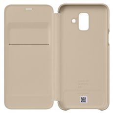 Samsung Galaxy A6 2018 Wallet Cover gold