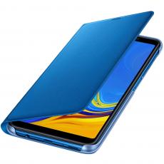 Samsung Galaxy A7 2018 Wallet Cover blue