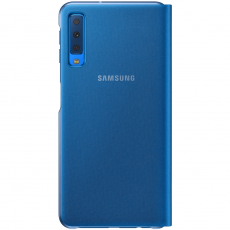 Samsung Galaxy A7 2018 Wallet Cover blue