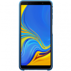 Samsung Galaxy A7 2018 Gradation Cover blue