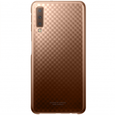 Samsung Galaxy A7 2018 Gradation Cover gold