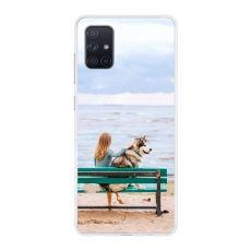 TPU-suoja omalla kuvalla Galaxy A71