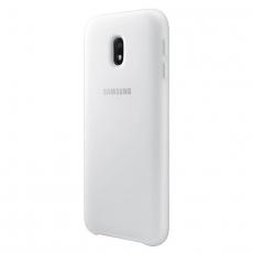 Samsung Galaxy J3 2017 Dual Layer Cover white