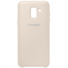 Samsung Galaxy J6 2018 Dual Layer Cover gold