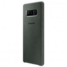 Samsung Galaxy Note 8 Alcantara Cover khaki