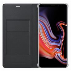 Samsung Galaxy Note 9 Leather Wallet Cover black