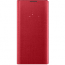 Samsung Galaxy Note 10 LED View Cover red