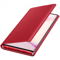 Samsung Galaxy Note 10 LED View Cover red *poisto, avattu palautus*