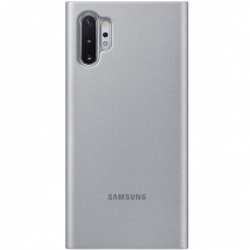 Samsung Galaxy Note 10+ Clear View Cover silver