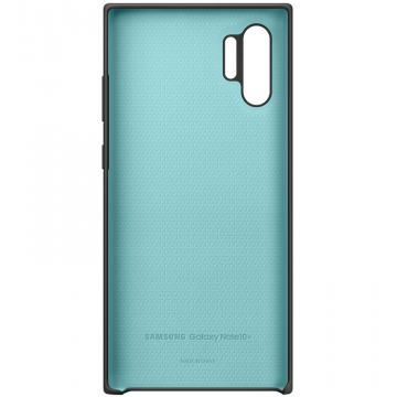 Samsung Galaxy Note 10+ Silicone Cover black
