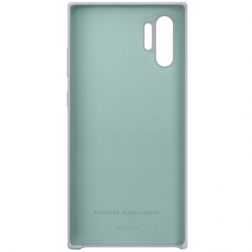 Samsung Galaxy Note 10+ Silicone Cover silver