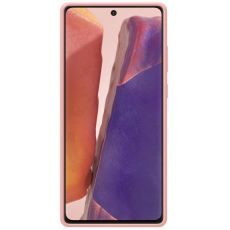 Samsung Galaxy Note20 Silicone Cover bronze